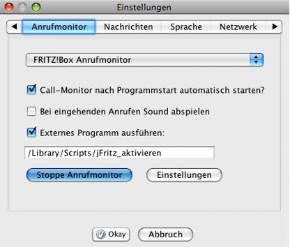 Fritz box und jfritz anrufmonitor esse est percipi for Fenster immer im vordergrund